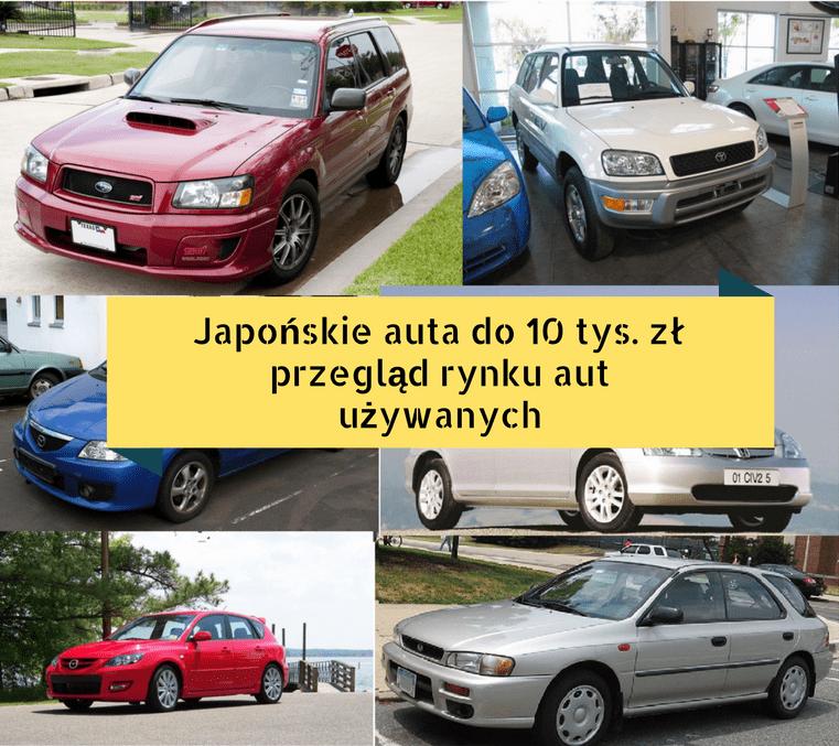 Japońskie auto do 10 tys. zł