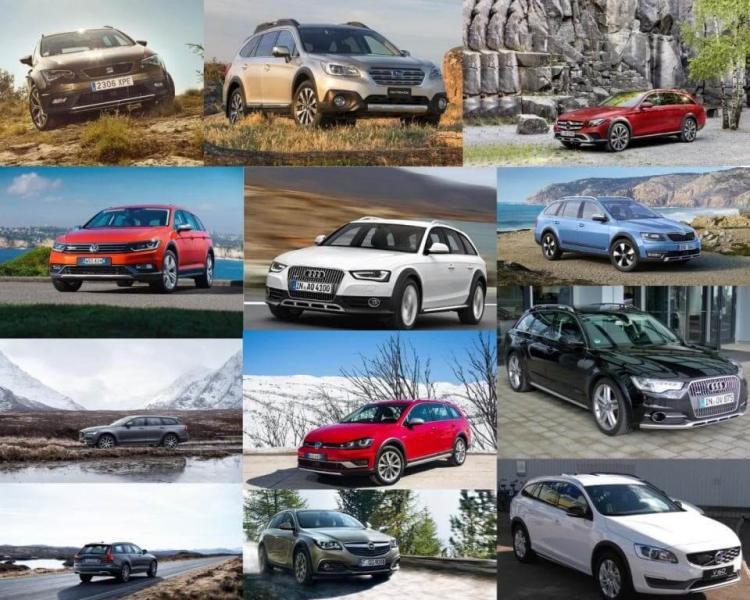 podniesione kombi 4x4 przegląd rynku aut nowych